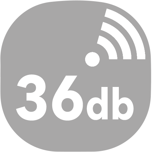 small congelateur decibels 36db