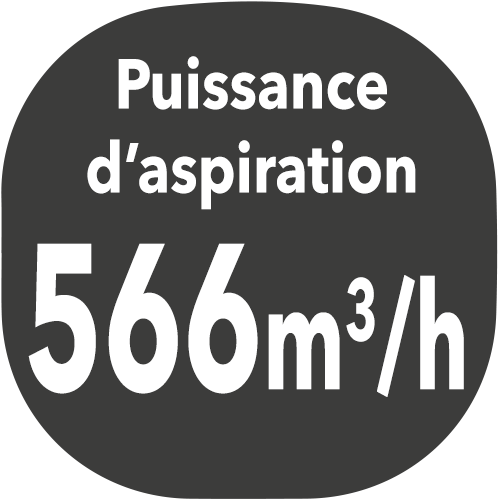 small hotte puissance aspiration 566m3