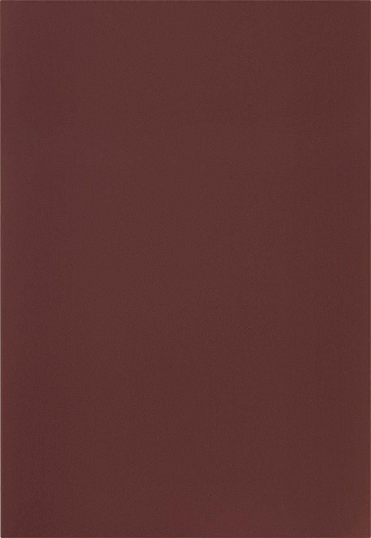 Façade Laque laminate, rouge rouille ultra mat