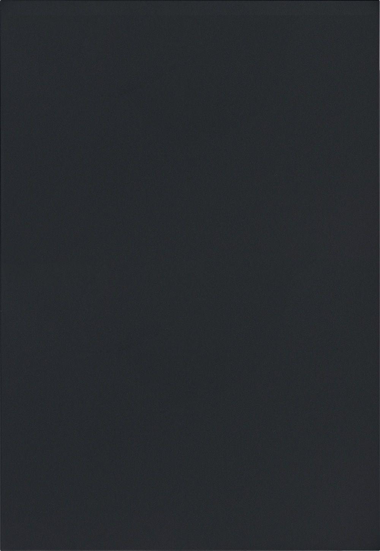 Façade Laque laminate, noir graphite ultra mat