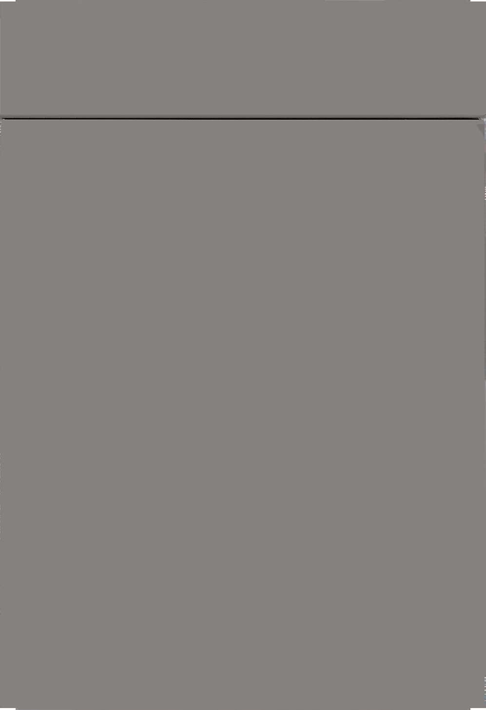 Façade gris agate mat soyeux