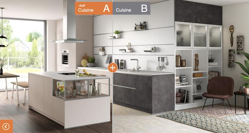 Simulez votre cuisine en 3D